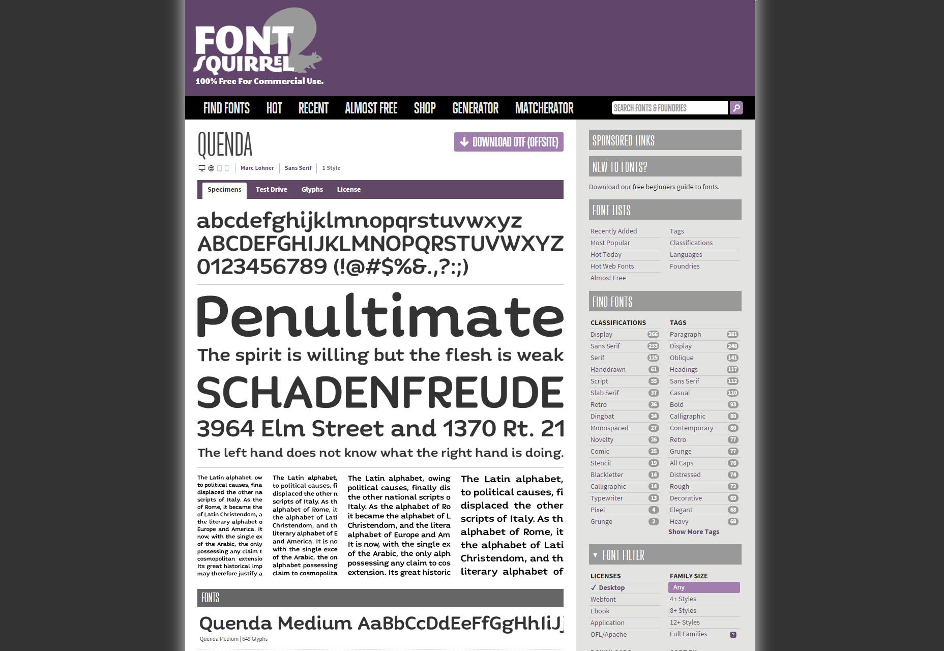 quenda-6-weight-sans-serif-font