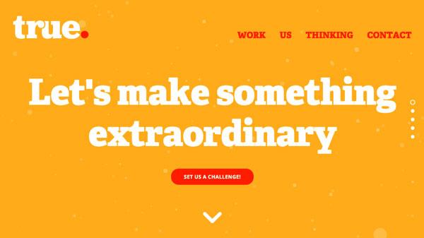 看网站学排版!17个文字排版优秀的国外网站设计