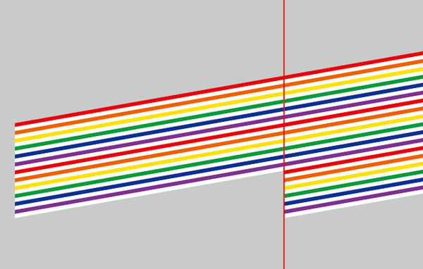 PS教程!教你快速简单打造一个元气满满的彩虹糖果字效