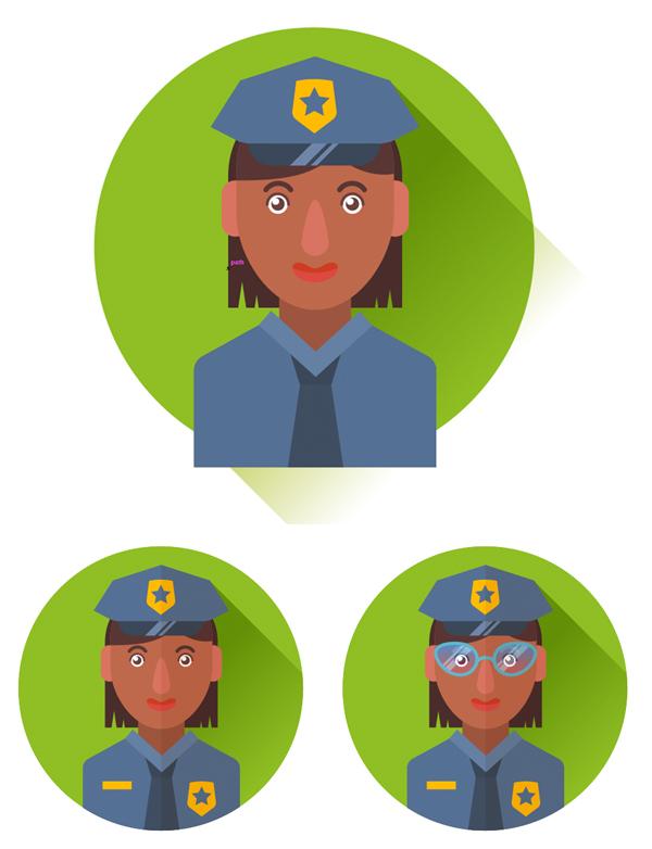 49-flat-professions-avatars-icons