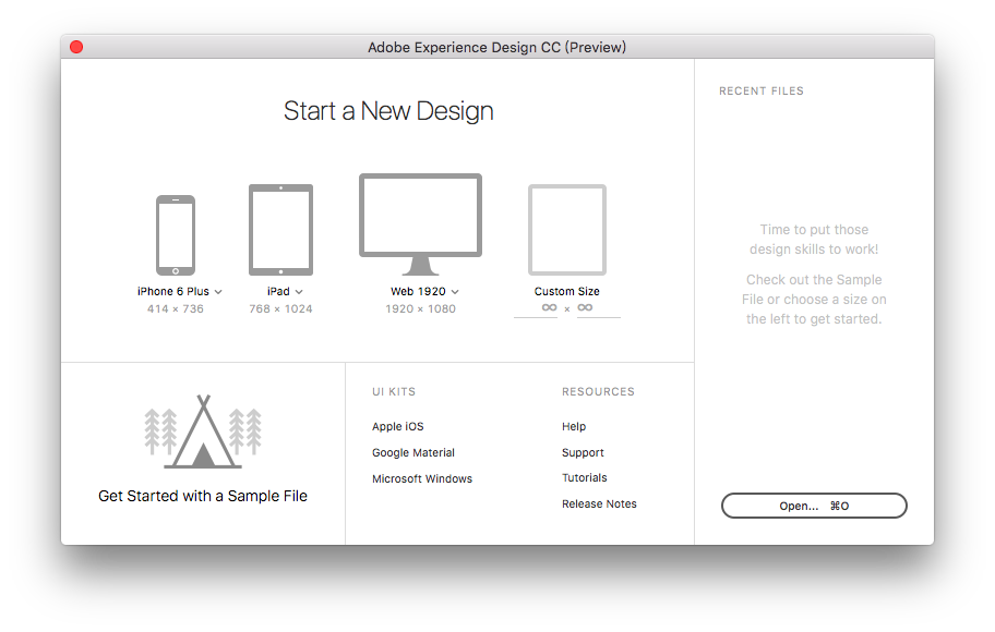 原型利器提前知!Experience Design CC简单体验概览