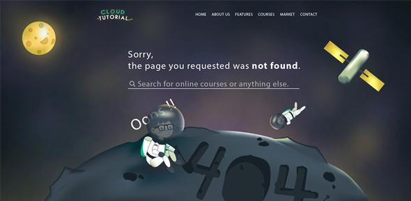 拯救无法访问!30个妙趣横生的404设计页面