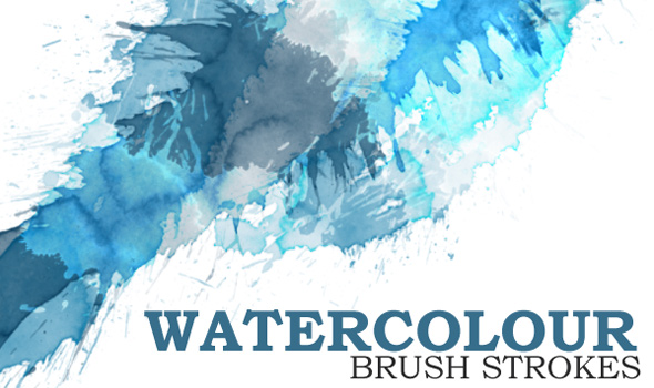 Watercolor-Photoshop-Brushes