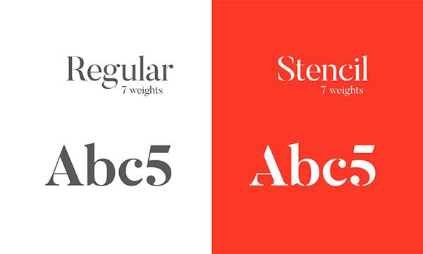 打包好了!优设三月份质量最高的一组英文字体免费下载
