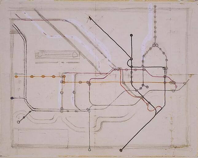 全世界都在学他!伦敦地铁图背后的天才设计师Harry Beck