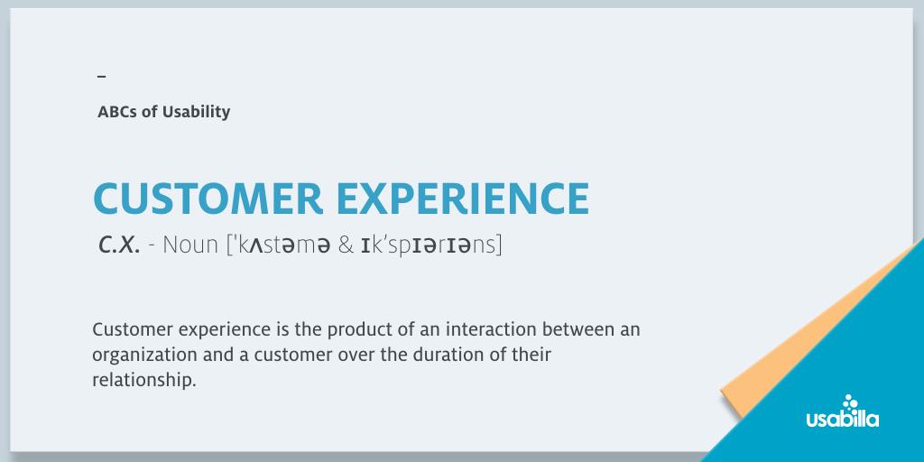 常识学起来!设计师最好知道一下的用户体验术语小科普