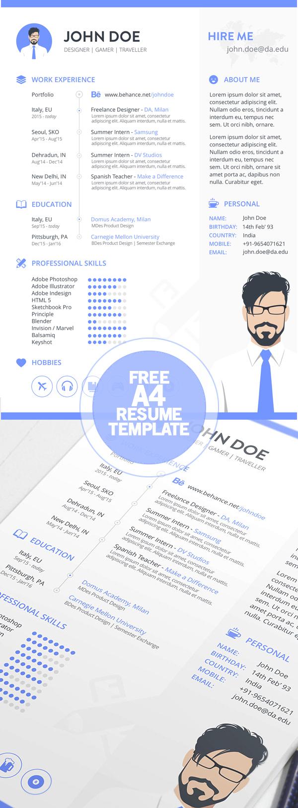006_free_cv_resume_template
