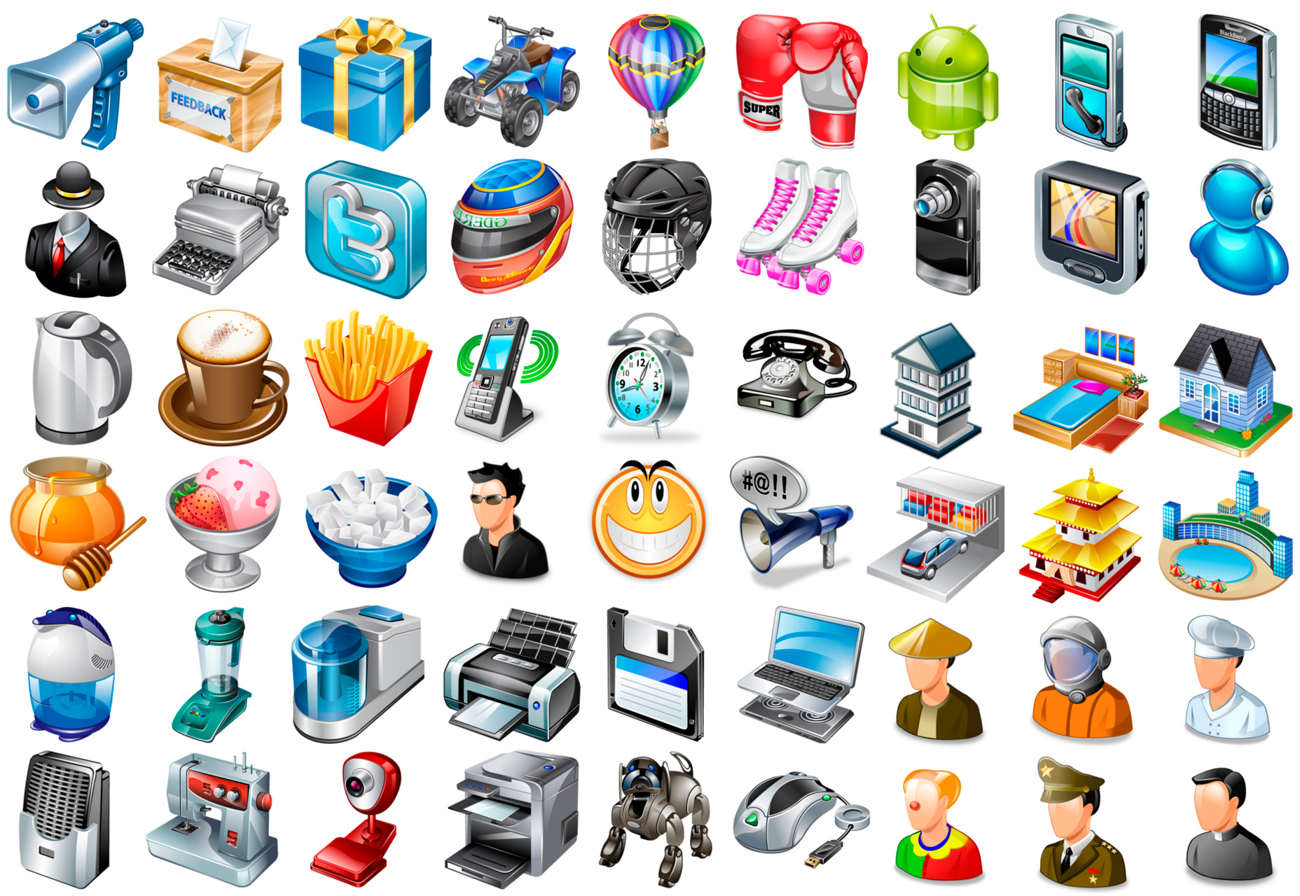 91k-realistic-desktop-icons-bundle
