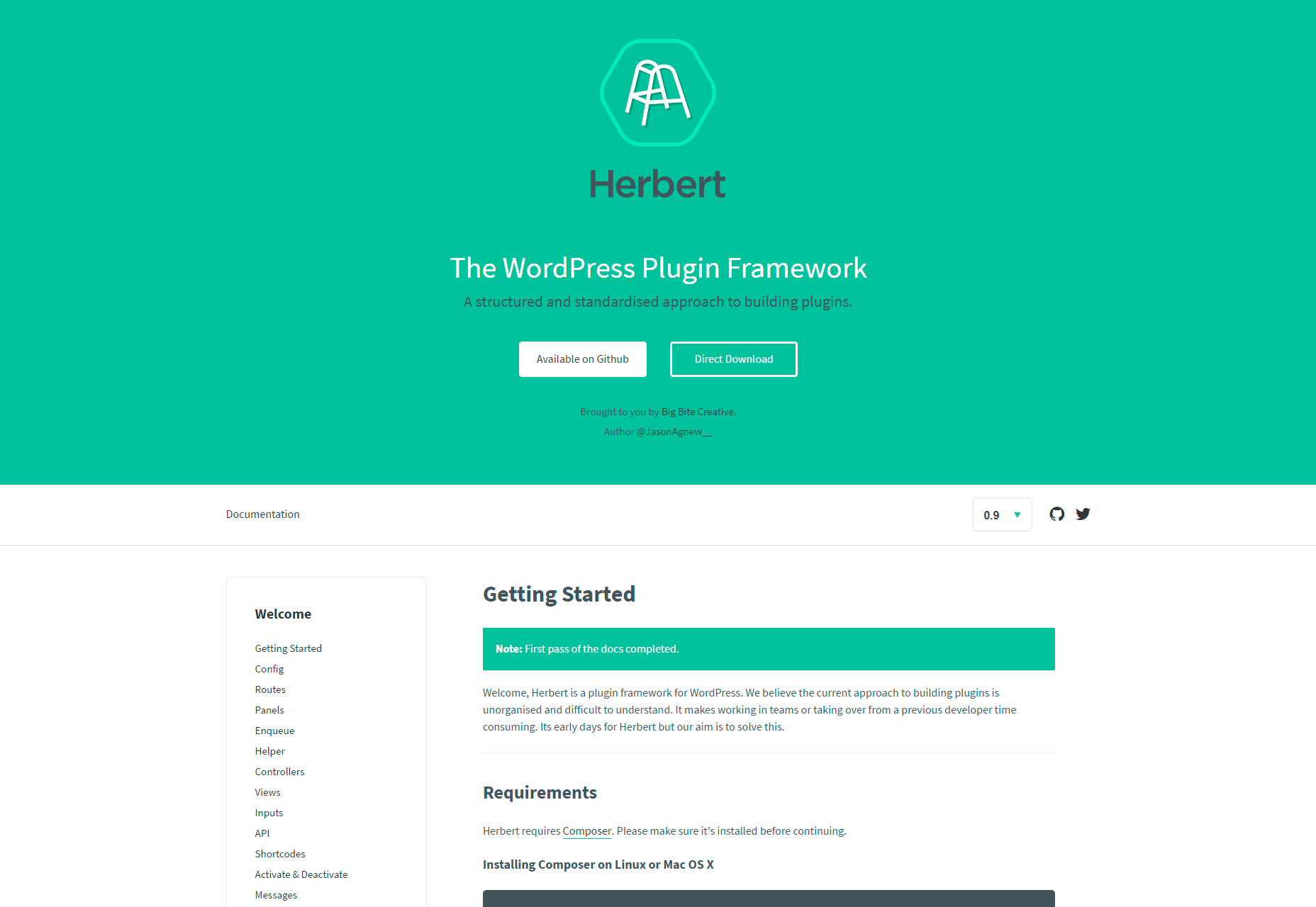 herbert-structured-wordpress-plugin-framework