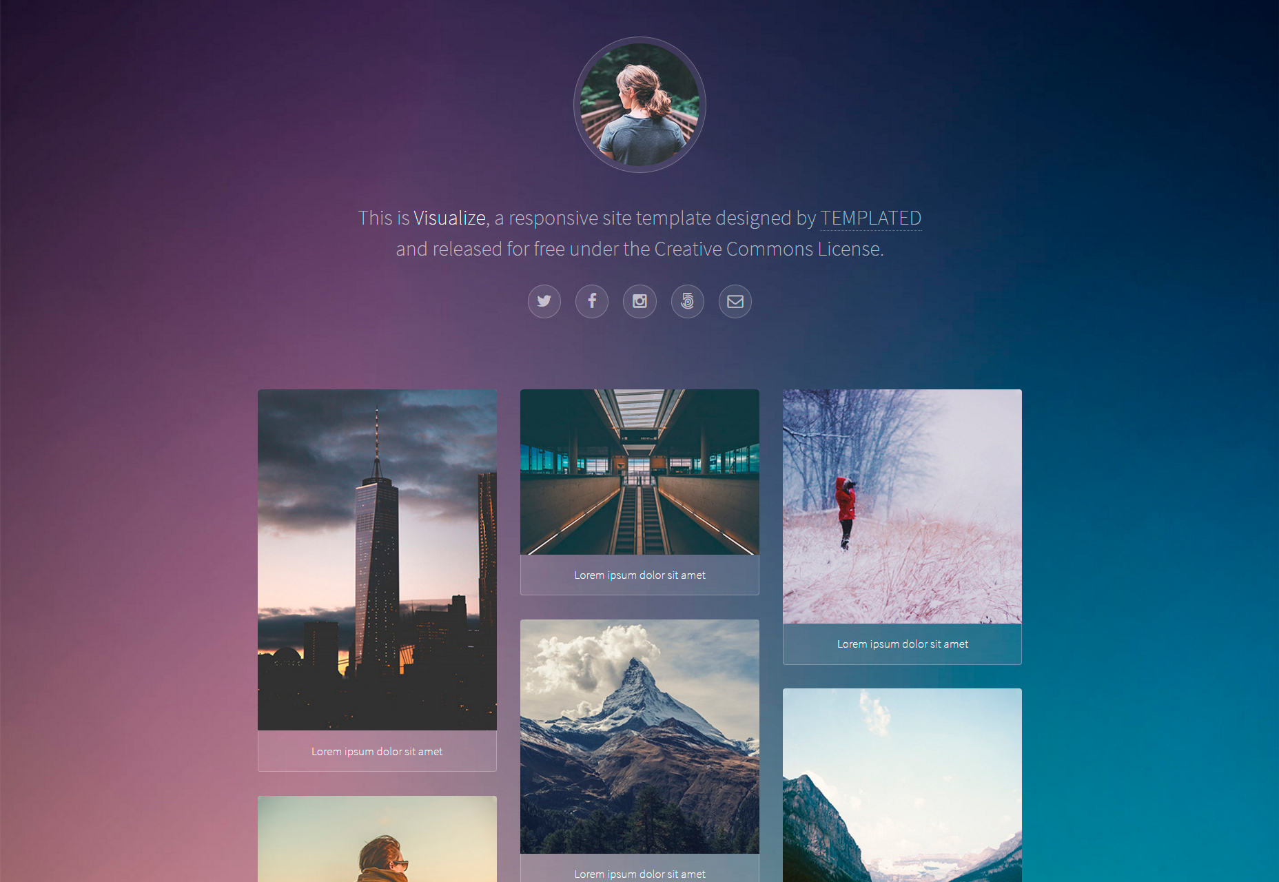 visualize-nice-responsive-web-portfolio-template