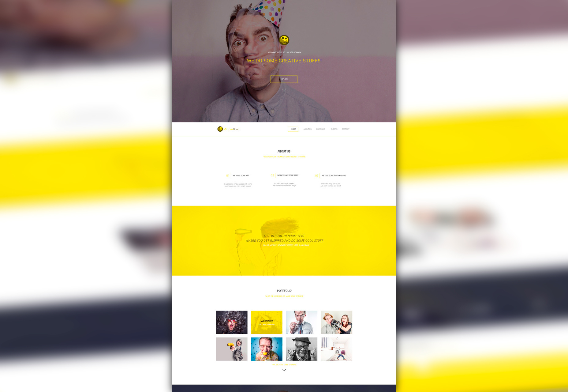 yellowmoon-nice-agency-psd-landing-page