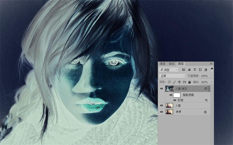 PS教程!巧用滤镜快速将人物照片转成素描肖像