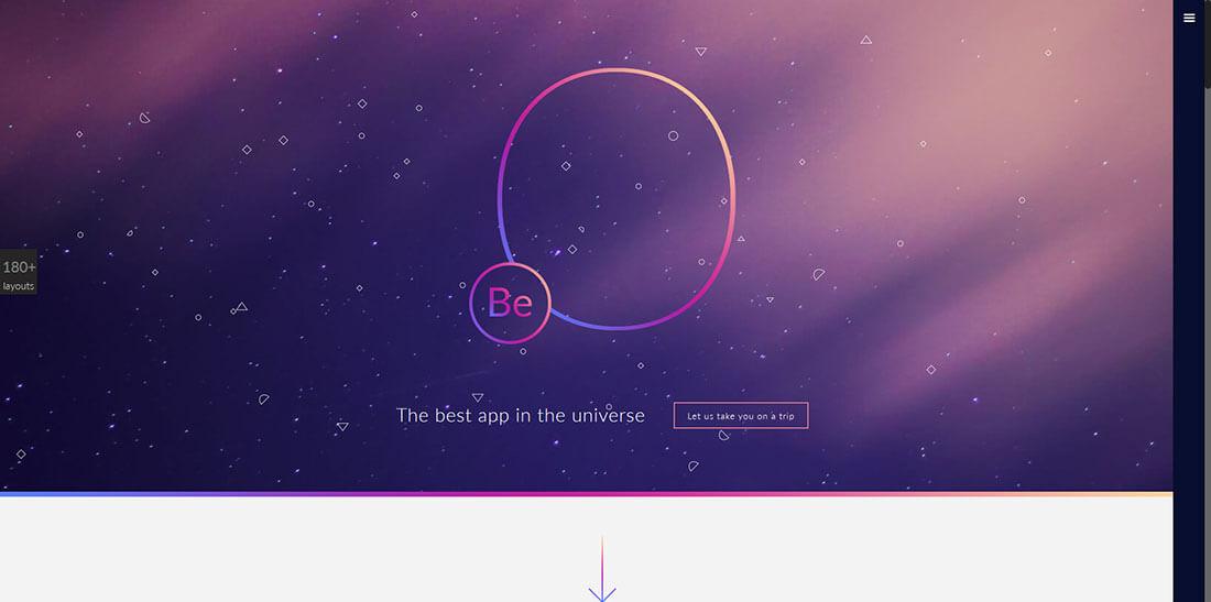 鲜活的案例!向BeTheme学习设计制作炫酷的作品展示页