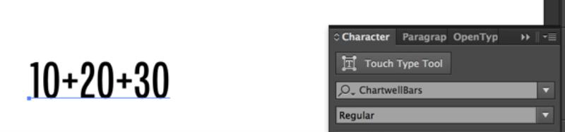 字体界的黑科技!输入数字立刻生成酷炫信息图的字体
