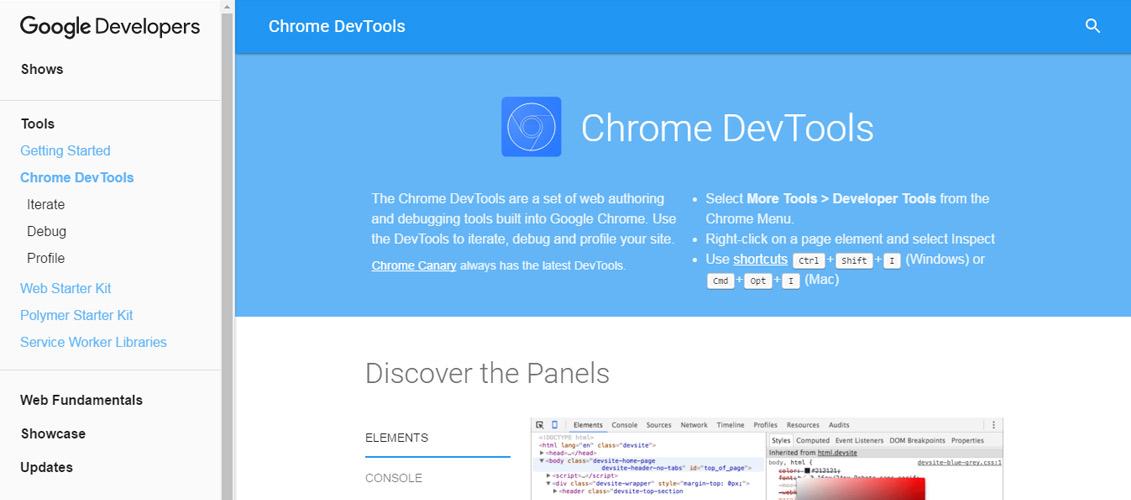 Google-Chrome-DevTools