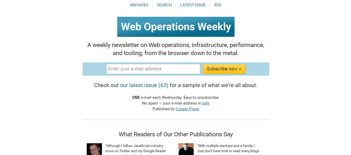 Web-Operations-Weekly