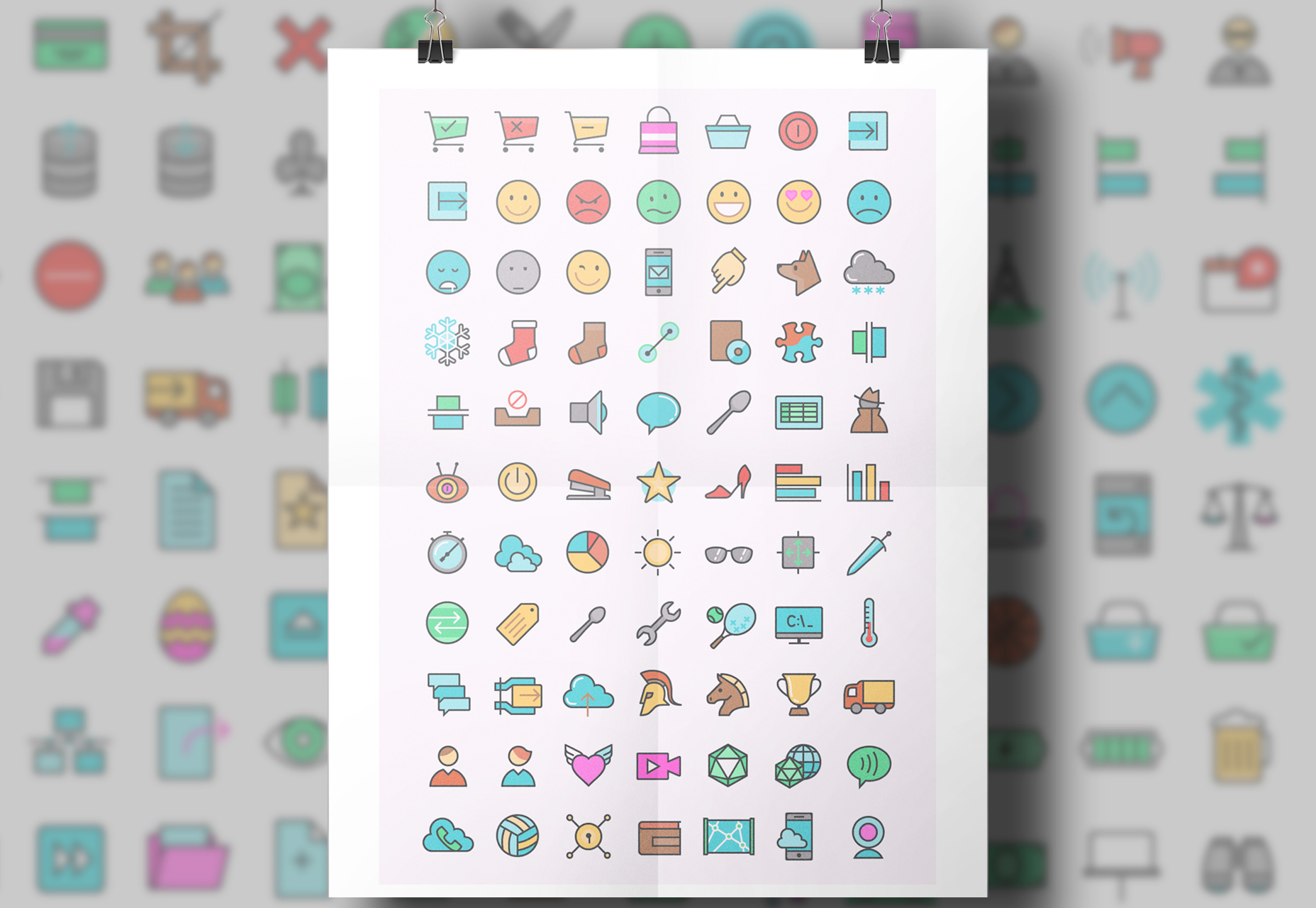 colorful-general-icons-set