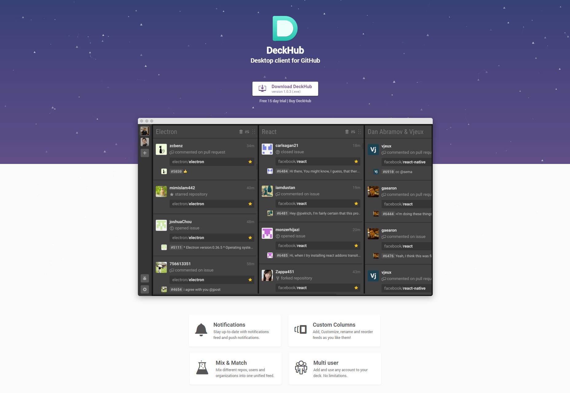 deckhub-desktop-client-for-github