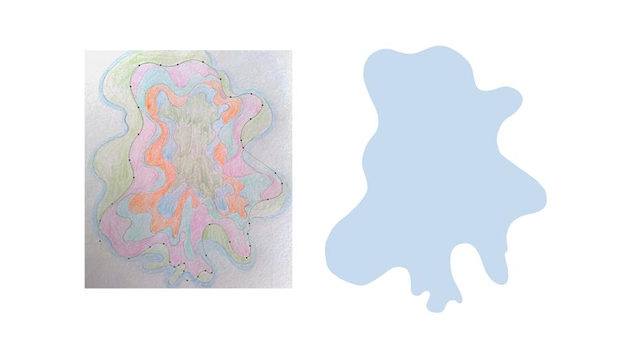 PS教程!手把手教你绘制水月洞天的纸艺效果