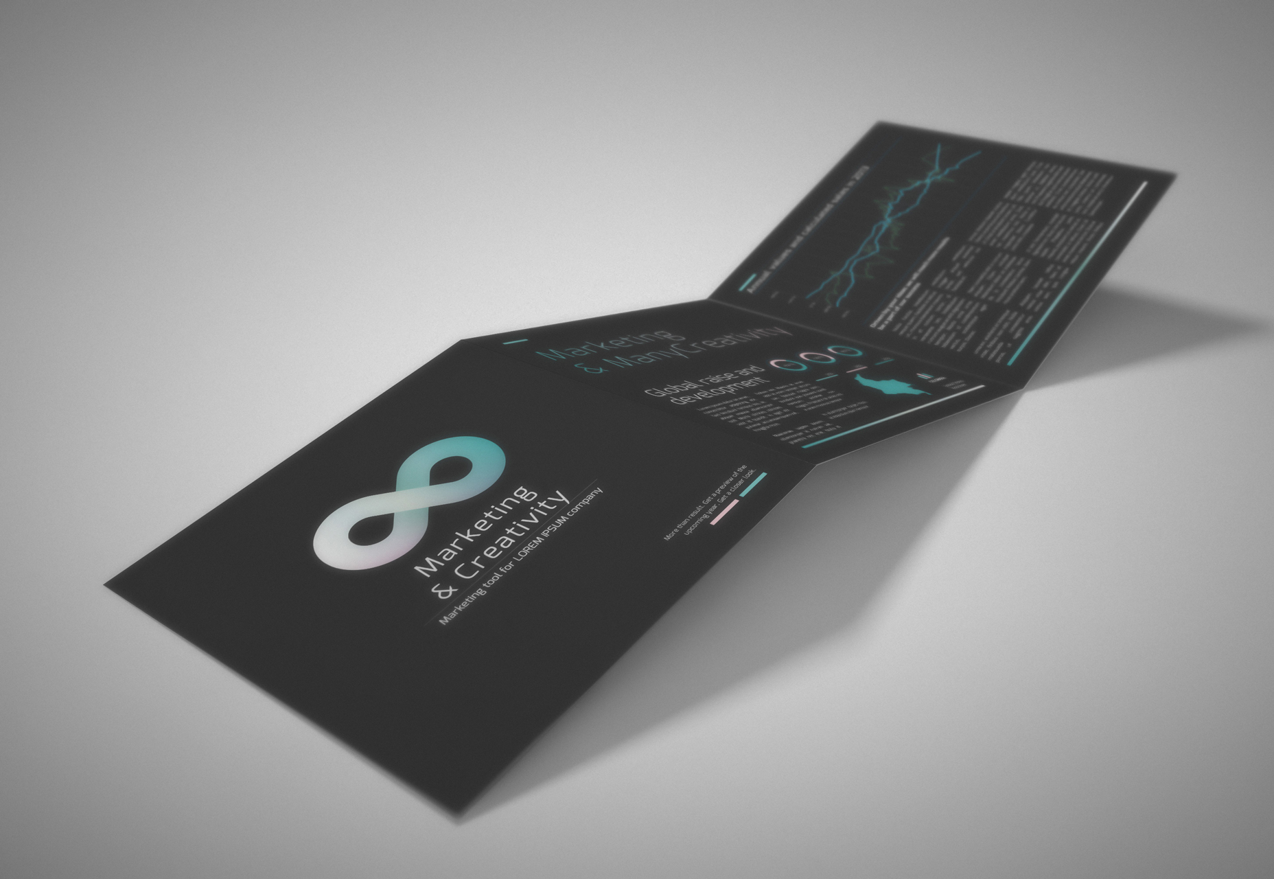 teal-dark-schemed-tri-fold-template