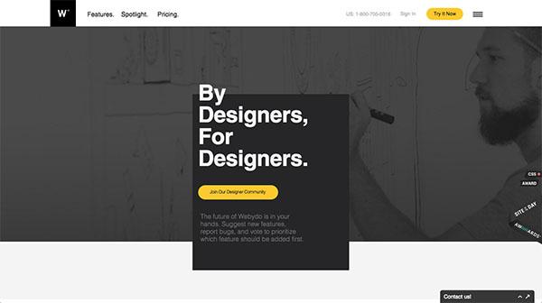 就要不一样!23个出人意表布局独特的优秀网页设计