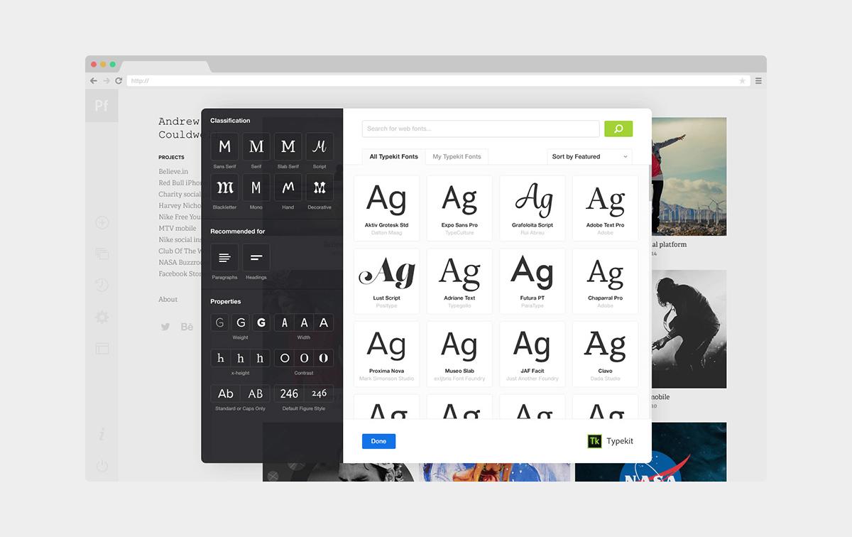 新服务!用Adobe Portfolio打造你的专属作品展示网站