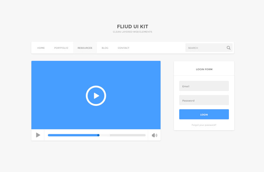 Fluid-UI-Kit-Free-PSD