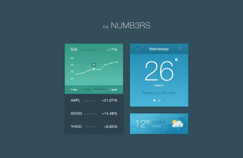 Numbers-Flat-UI-Kit-Free-PSD
