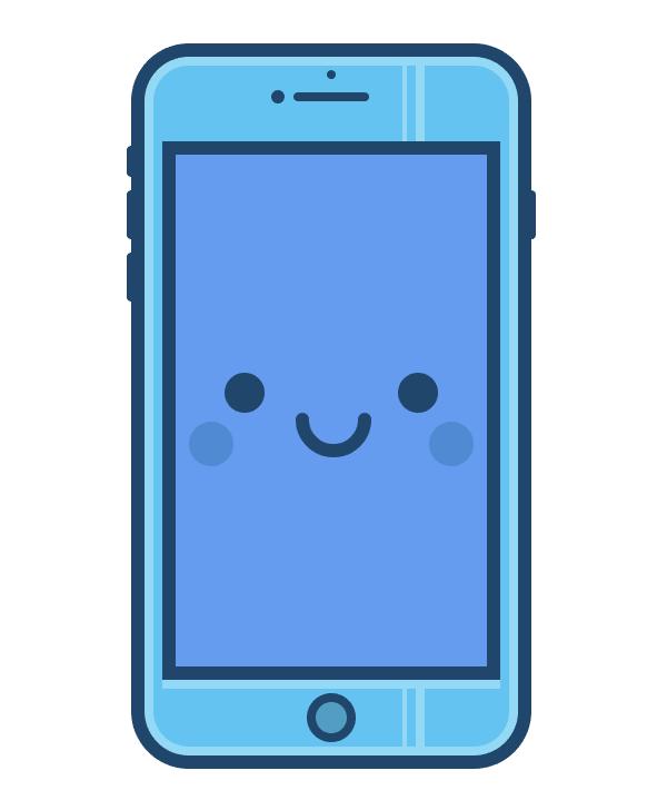 AI教程!从零开始教你绘制一枚可爱的手机插画