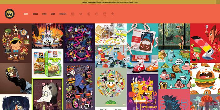 精雕细琢!一组精心打磨创意爆棚的设计作品展示网站