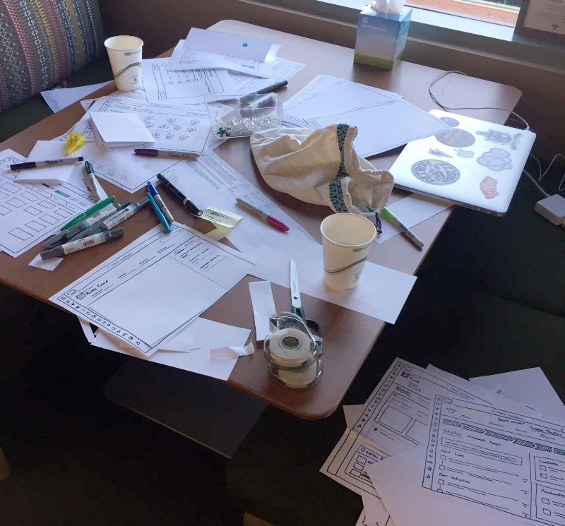 别急着上高保真!教你在设计实战中用纸和笔做原型设计