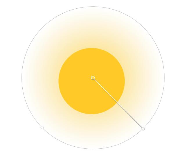 人气教程第二弹!如何用渐变色绘制高格调的背景+球体