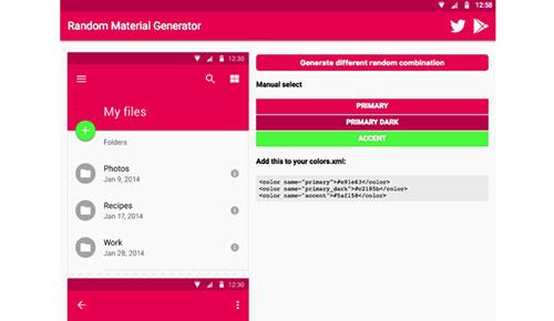 超赞!10款快速搭配Material Design 配色方案的Web工具