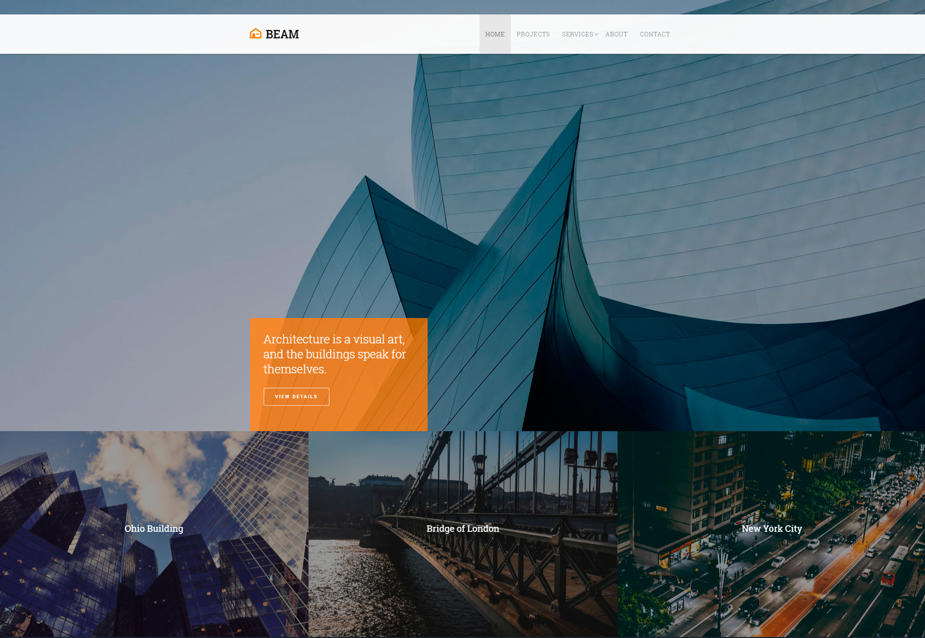 beam-corporate-portfolio-bootstrap-template