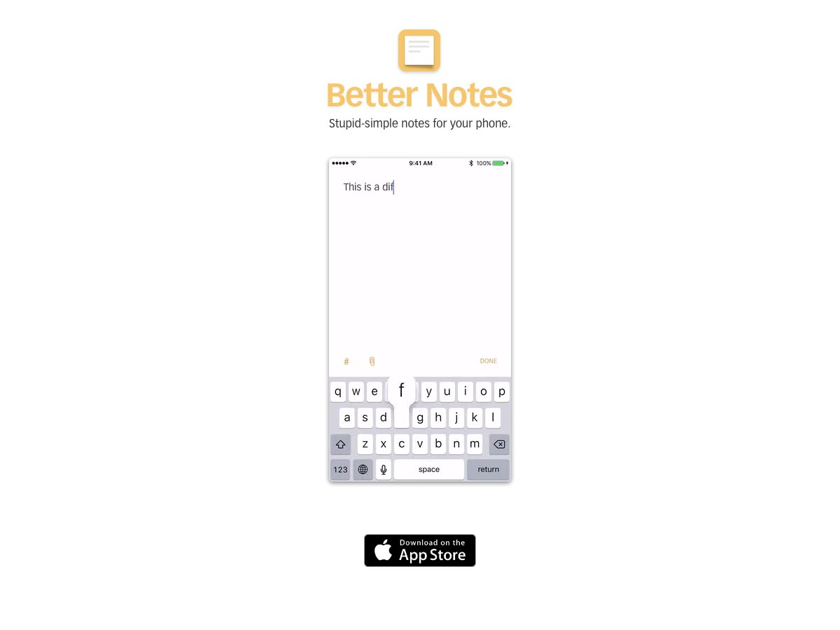 betternotes