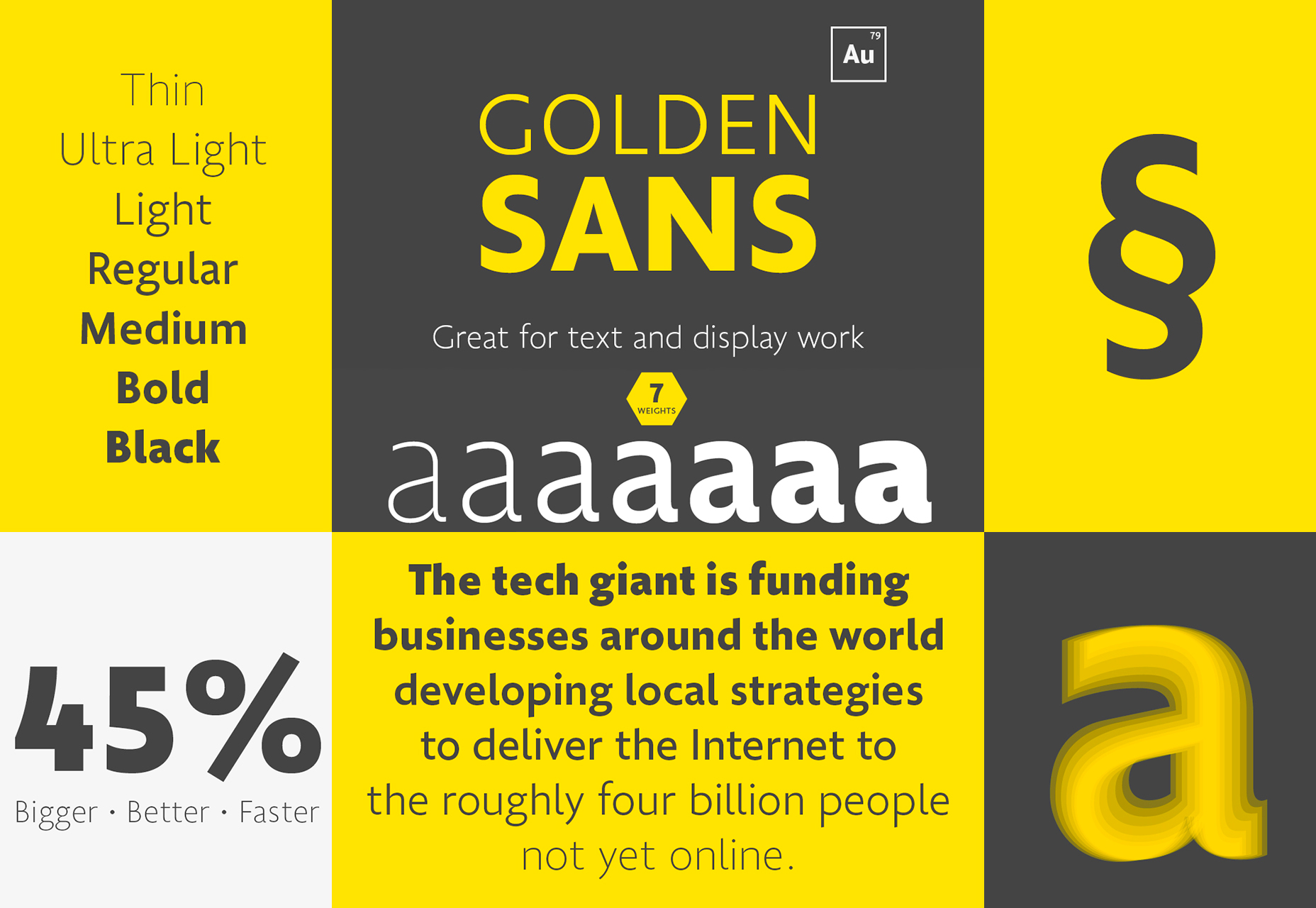 golden-sans-professional-multiweight-font