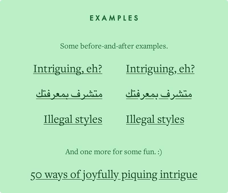 超赞!最佳WEB字体排版实践的简明指导手册