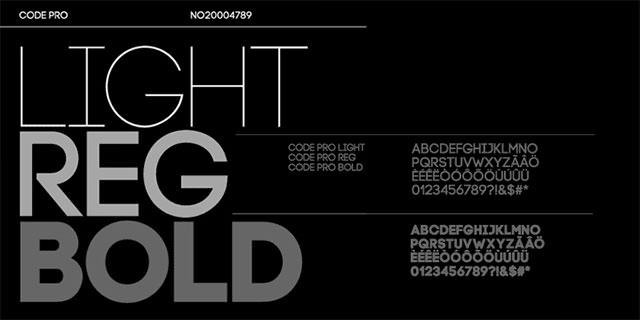 实例教学!10个帮你运用好字体组合的设计原则