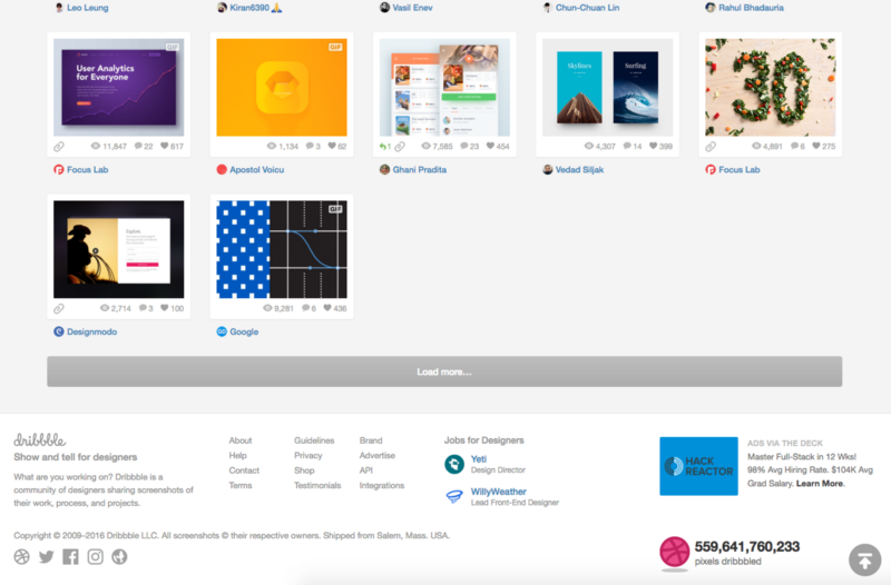 网站信息量大,该采用分页式设计还是瀑布流滚动设计?