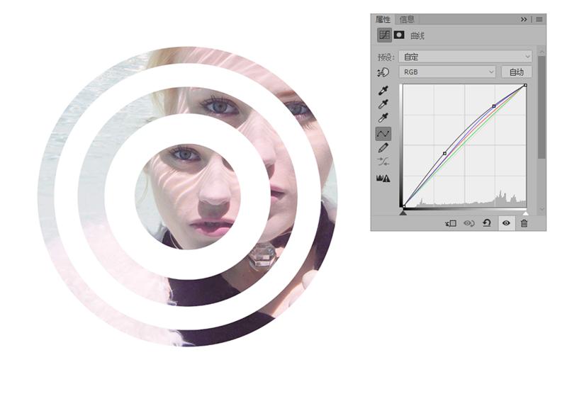 PS教程!教你打造抽象的同心圆艺术视觉效果