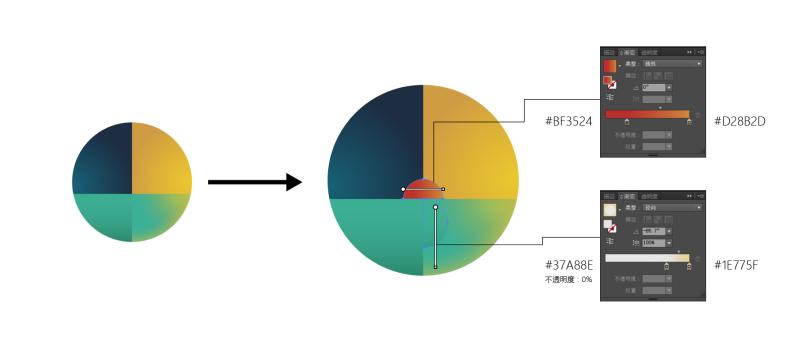 AI教程!教你打造超美渐变色的秋分主题插画