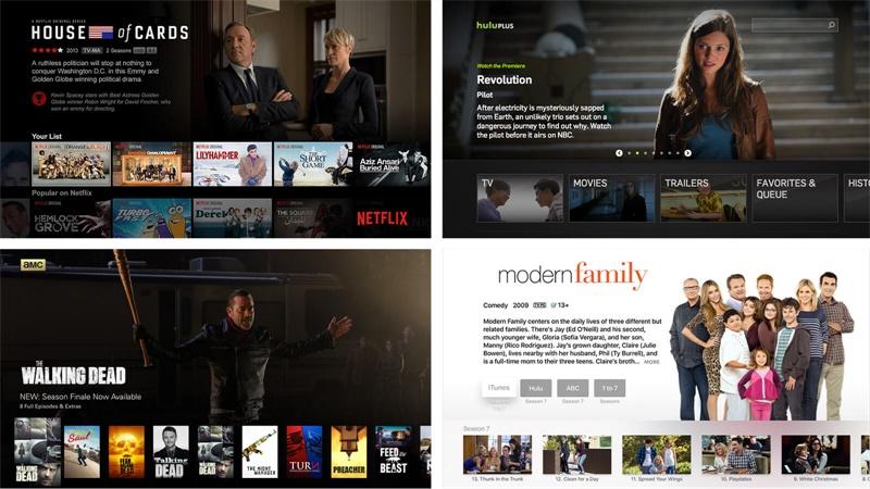 新趋势!为电视做UI设计系列教程之基础组成部分