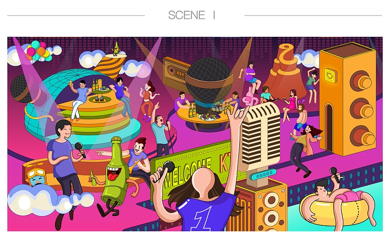 案例实战!一个完整的「夏日狂想曲」设计项目经验总结