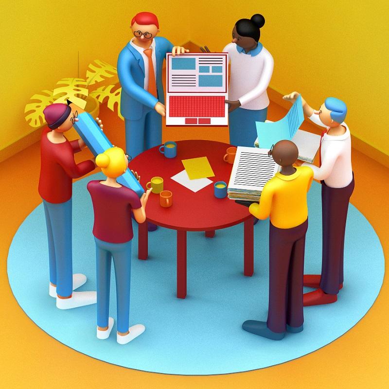 参加大型项目时,设计师应该学会的最优工作流程!