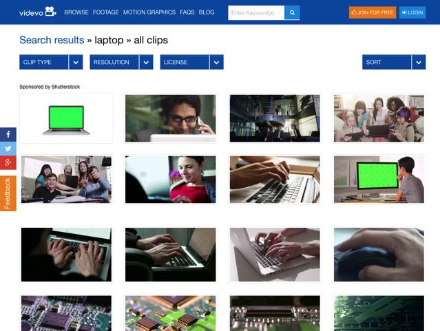 酷站丨超过4000部影片+动画的高画质素材免费可商用