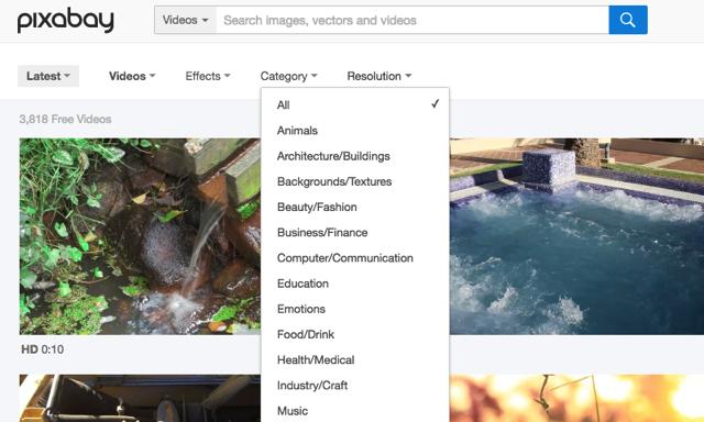 酷站丨超过七万个免费可商用素材+3700个免费影片的网站