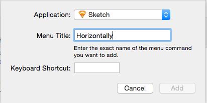 Sketch丨不聊常规快捷键了,来看这些逆天的自定义快捷键!