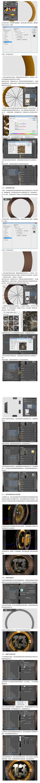 PS教程!教你创建炫酷的3D金属字体(素材已打包)