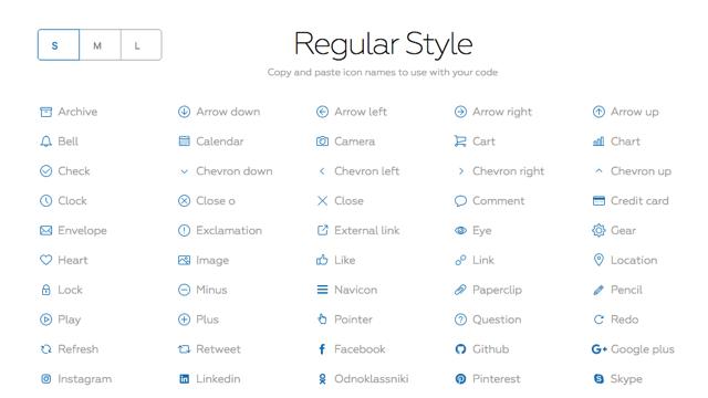 酷站两连发!免费易用的图标集+易读性最高的免费英文字体