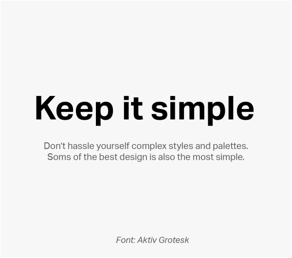 科班高手的方法!16个简单实用的排版小Tips